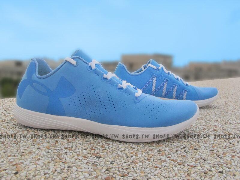 Shoestw【1274413-464】UNDER ARMOUR 慢跑鞋 Street Precision 水藍 女生
