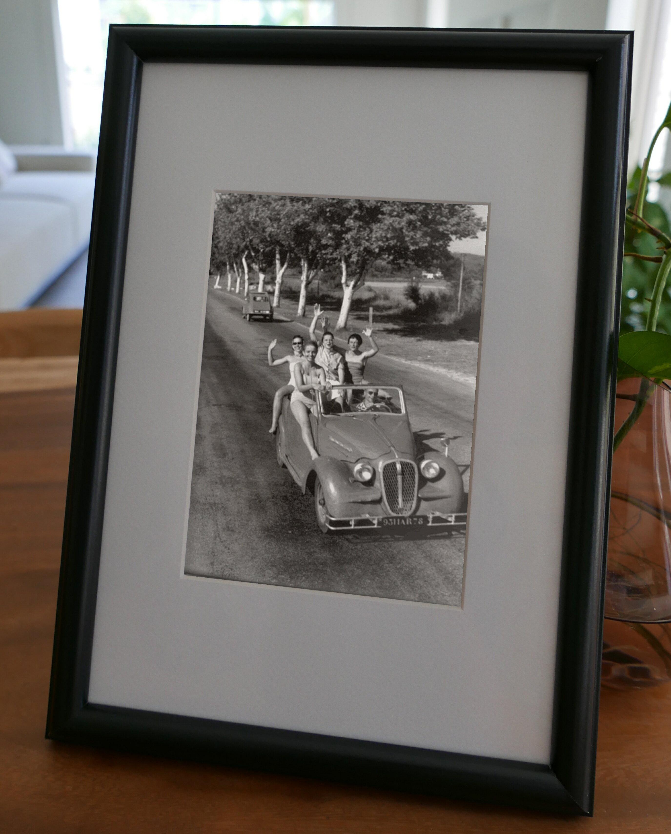 聚鯨Cetacea﹡Art【KLFZ-0229】car汽車/friendship友誼/classic經典 畫框相框