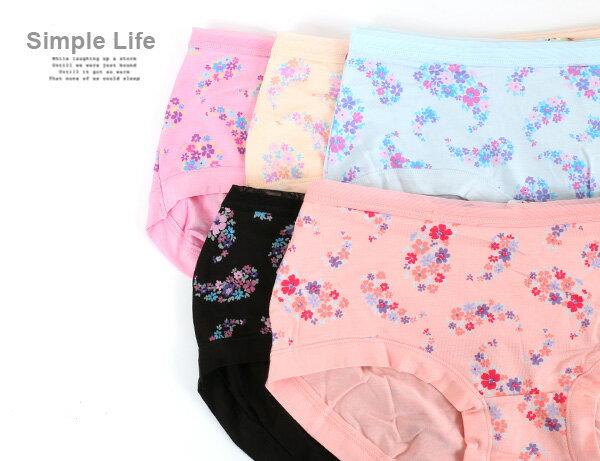 3件199免運【夢蒂兒】莫代爾纖維 織條無痕貼身褲3件組(隨機色) 1
