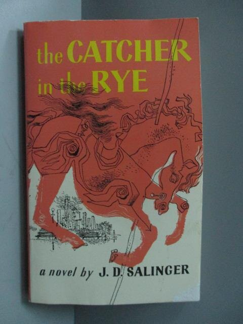 【書寶 書T4/原文小說_OSM】The catcher in..._Salinger