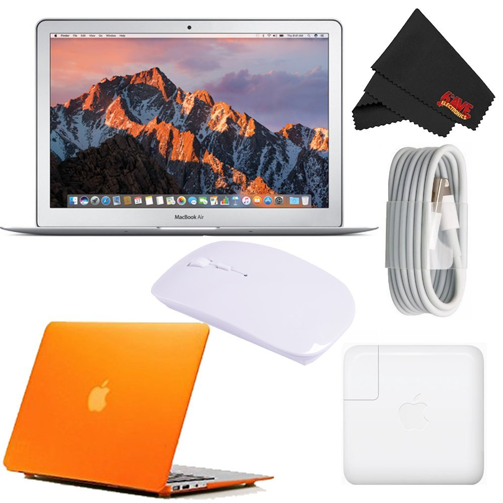 "Apple 13.3"" MacBook Air 256GB SSD #MQD42LL/A (Newest Version 2017 Model) Frosted Orange Bundle 0"