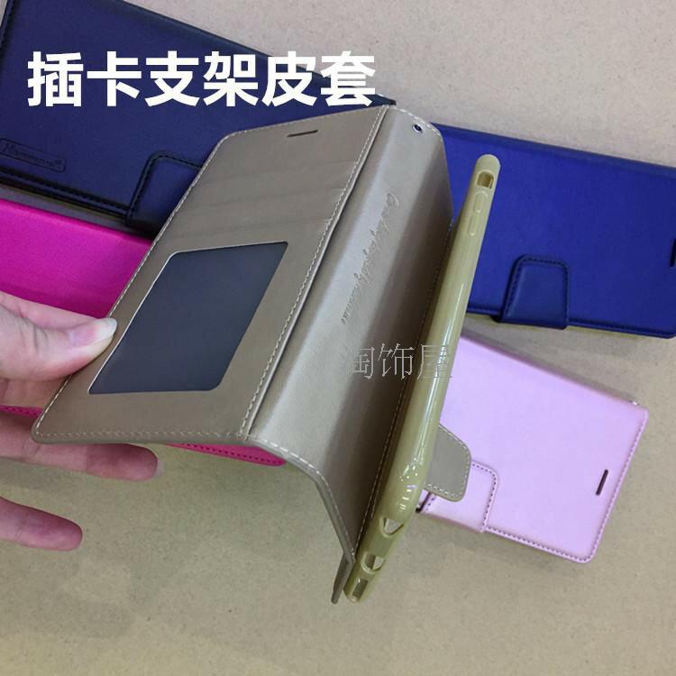 【Hanman 仿羊皮】華碩 ASUS ZenFone 4 ZE554KL 5.5 吋 斜立支架皮套/翻頁式側掀保護套