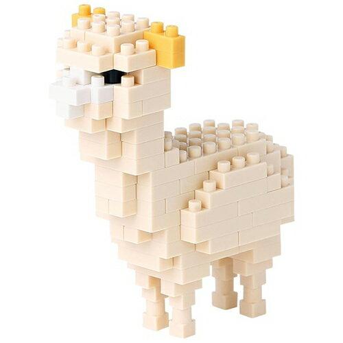 《 Nano Block 迷你積木 》NBC-160 - 新版羊駝