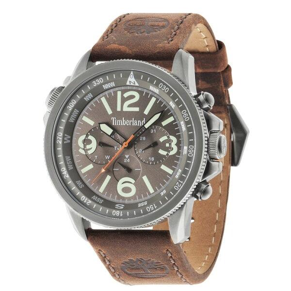 Timberland天柏嵐TBL.13910JSU61漆黑叢林時尚腕錶黑面45mm