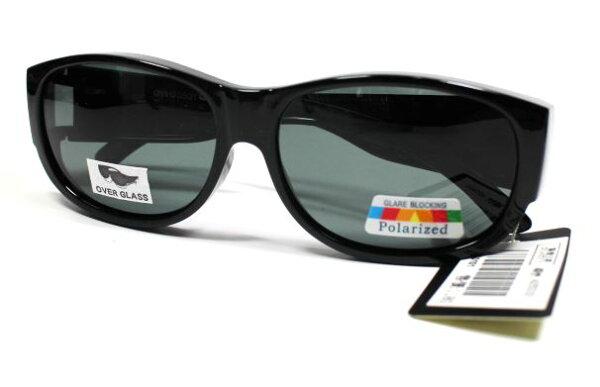 [陽光樂活]CYCLINGLINEUV400抗紫外線時尚潮流太陽眼鏡-MIT台灣製造-A050101全黑粗框鏡架