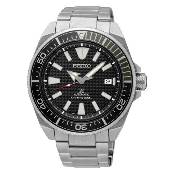 Seiko精工錶Prospex4R35-01V0D(SRPB51J1)DIVERSCUBA潛水機械腕錶黑面44mm