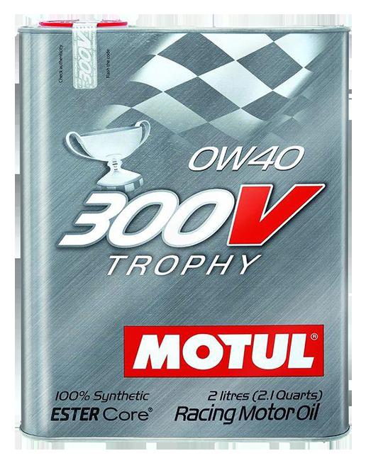 Motul摩特 300V Trophy 0W40 酯類合成機油(2L裝/汽車用)