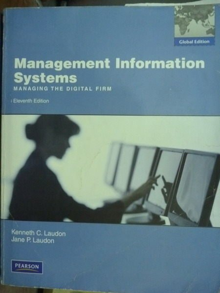 【書寶二手書T6/大學商學_QNV】Management Information Systems_11/e