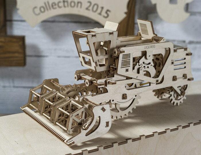 Ugears 自我推進模型 (Combine 聯合收割機) 2