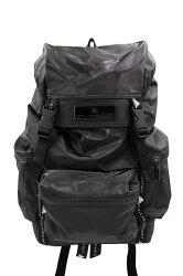 ADIDAS BY STELLA McCARTNEY Black Backpack 愛迪達 時尚後背包 (黑)