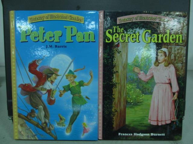 ~書寶 書T5/語言學習_QXQ~Peter pan_The secret garden_