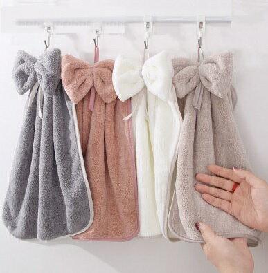 PS Mall 可愛掛式擦手巾超強吸水廚房擦手帕33*33CM【J1749】 2
