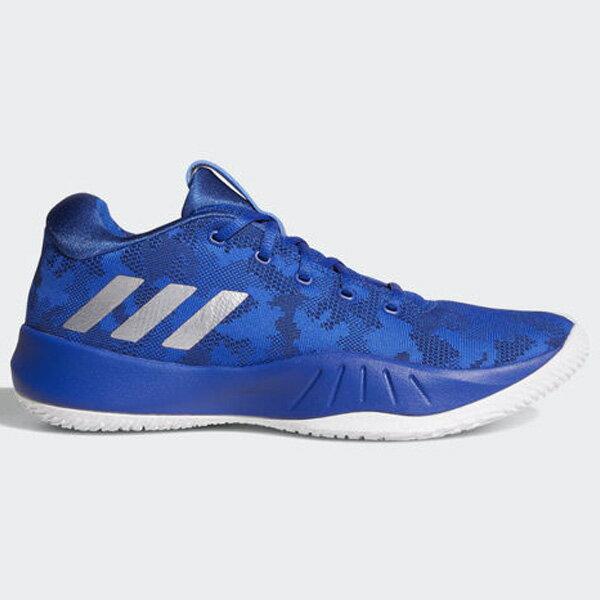 ADIDASNXTLVLSPDVI男鞋籃球慢跑訓練避震藍白【運動世界】CQ0551