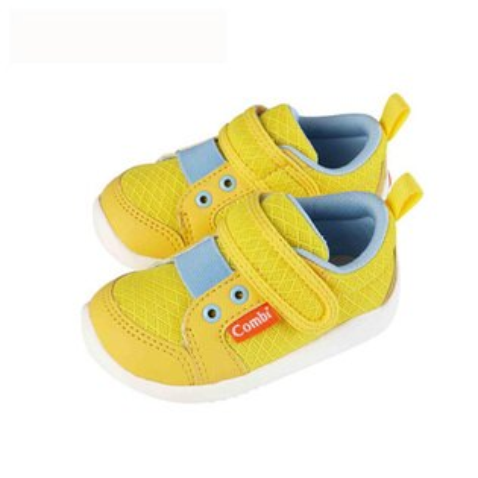 Combi康貝香榭巴黎幼兒機能鞋-金盞黃【悅兒園婦幼生活館】