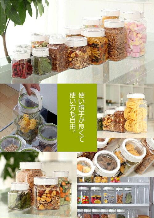 TAKEYA /  日本製 角型輕量氣密保存收納罐 全系列共8款【人氣商品】 9