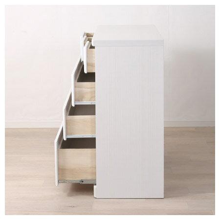 ◎(OUTLET)矮整理衣櫃 斗櫃 OUKA2 120LC WH 福利品 NITORI宜得利家居 3