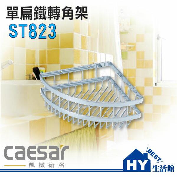 凱撒衛浴 Caesar 不銹鋼單層轉角架 ST823 浴室收納架《HY生活館》水電材料專賣店