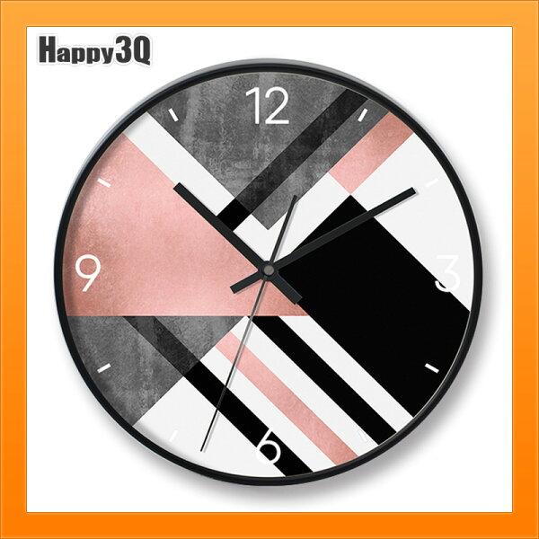 地中海掛鐘客廳家用個性創意時尚現代簡約鐘錶臥室靜音藝術石英時鐘-多款【AAA4538】