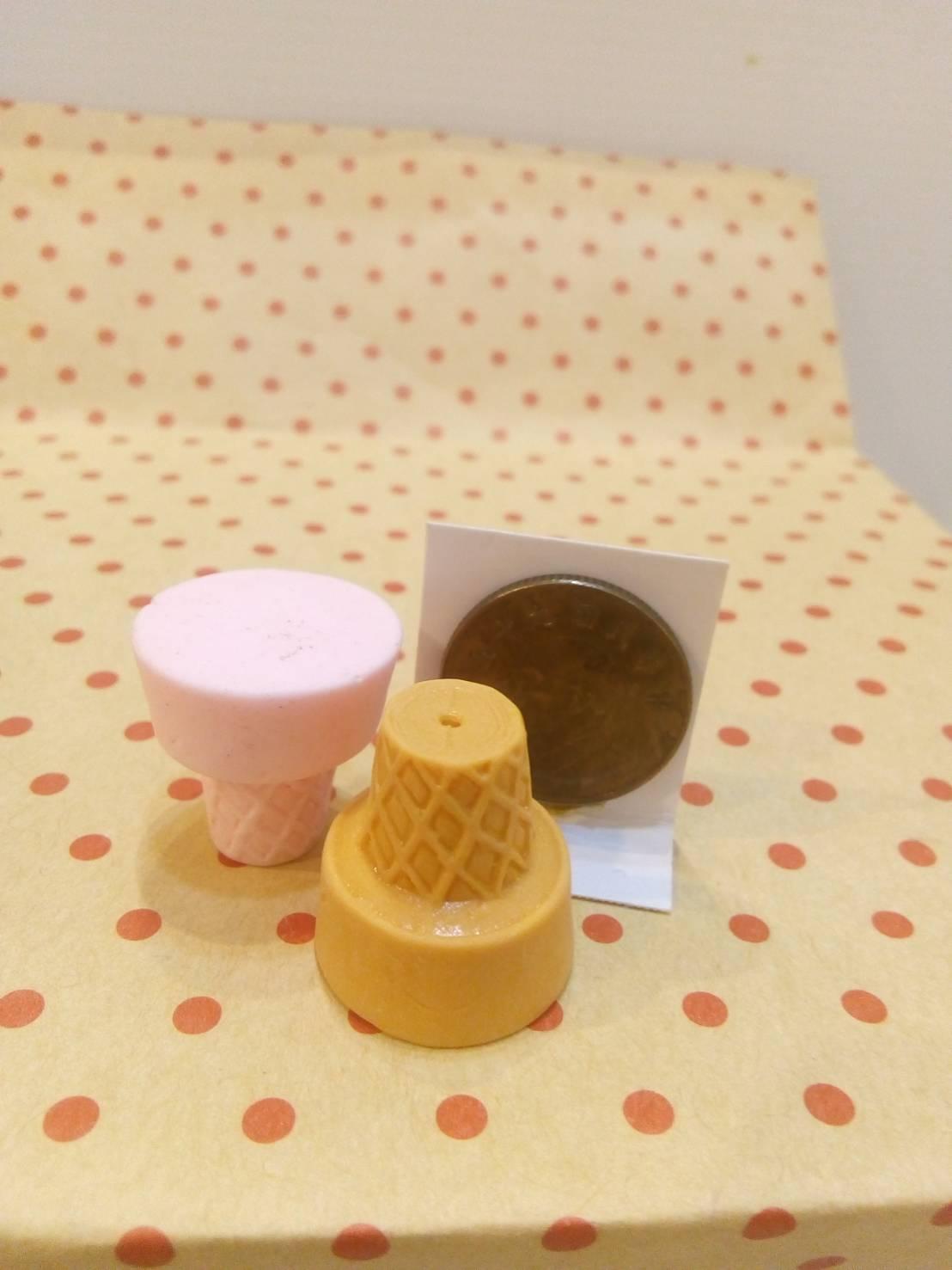 蛋糕吸鐵材料包-霜淇淋杯S0233《筑品文創》
