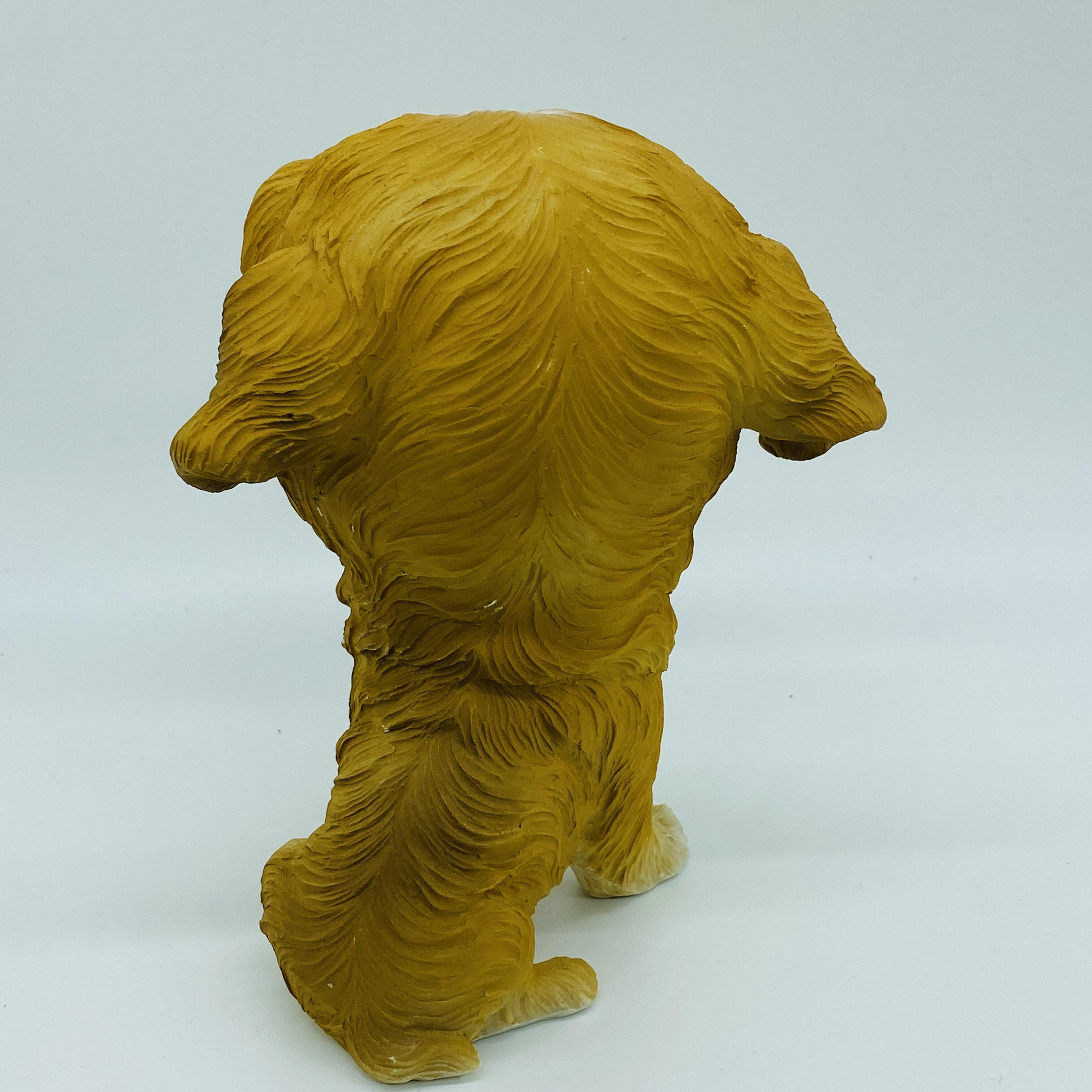 日本高山 可愛動物 大頭狗 毛毛 擺飾品  日本直送 日本設計 4