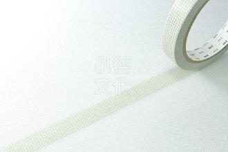 *小徑文化*日本和紙膠帶 mt Large Core ( 太芯 ) 方眼・灰 ( MT01L023 )