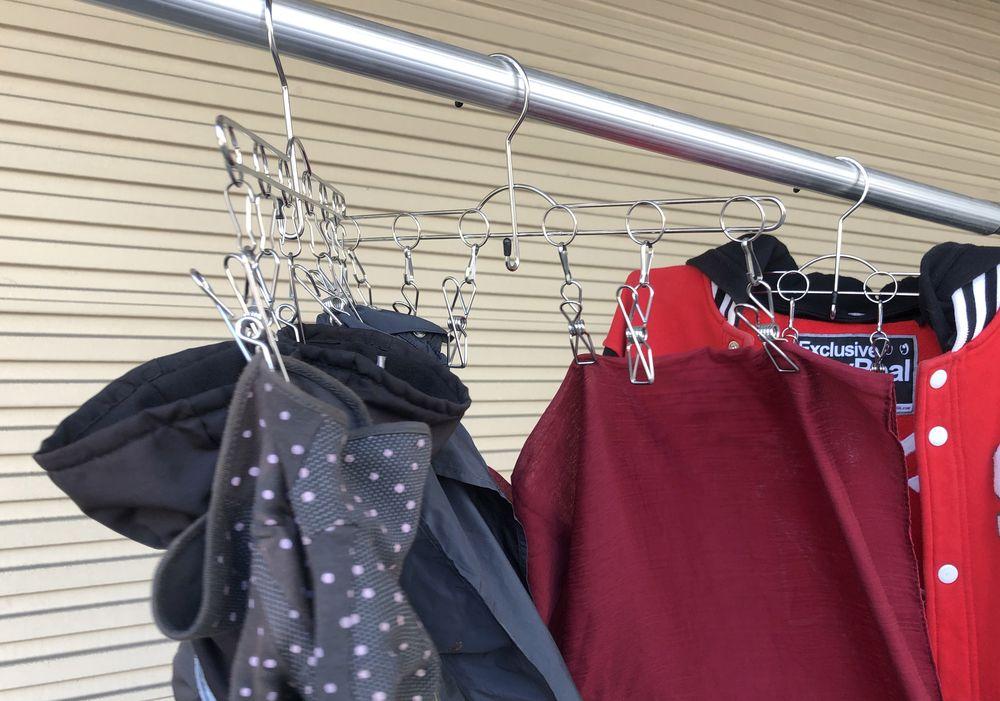 【RLC】不鏽鋼衣架(10入) / 衣架 / 家具 / 衣物收納 / 掛勾