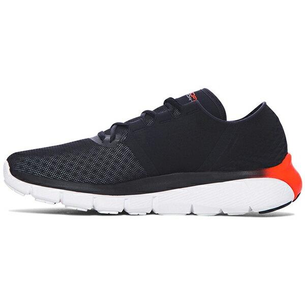 《出清59折》Shoestw【1285677-002】UNDER ARMOUR UA 慢跑鞋 Speedform Fortis 2.1 網眼布 黑橘 男生尺寸 1