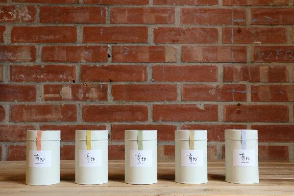 有物生活:有物台灣花薰茶-75克散茶二入茶禮盒罐裝組(715-915樂天限定試賣)