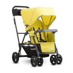 美國Joovy Caboose Ultralight Graphite 新款輕量級雙人推車(第二座椅需另購)★衛立兒生活館★