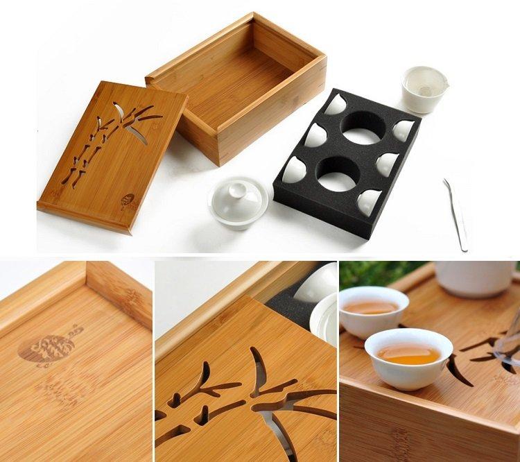 孟宗竹旅行攜帶式茶具組