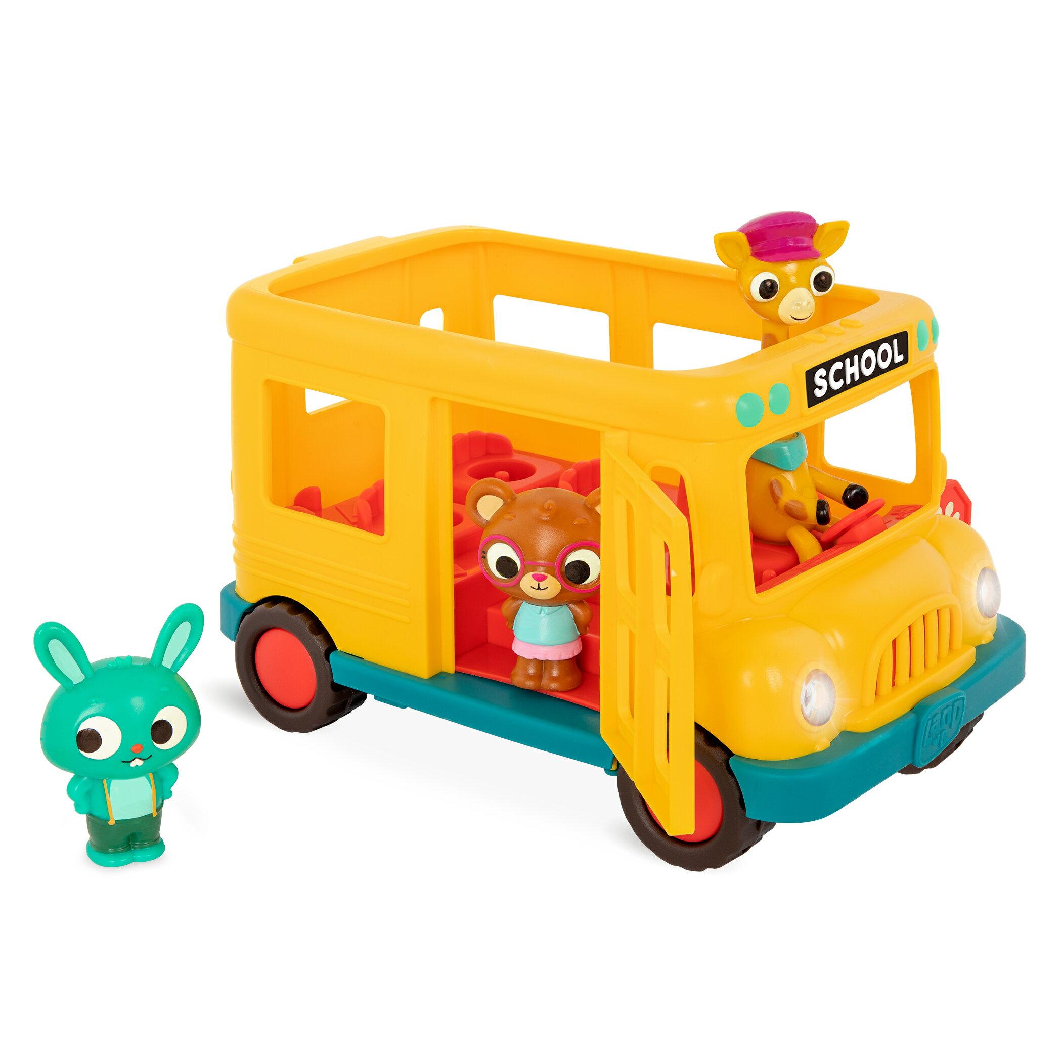 【淘氣寶寶】美國 B.Toys 感統玩具 波妮哼哼唱校園巴士 LB1915【淘氣寶寶】