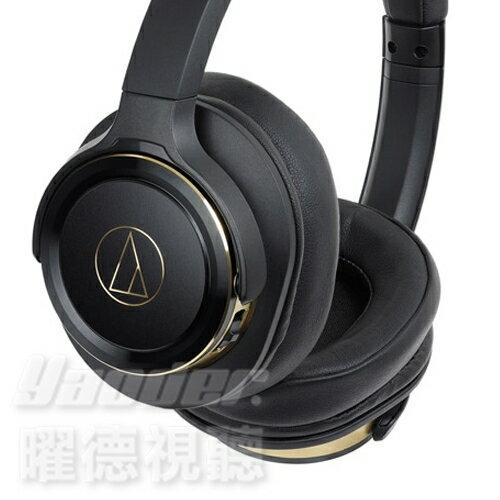 <br/><br/>  【曜德★新上市】鐵三角 ATH-WS660BT 黑金 重低音無線藍芽 耳罩式耳機 持續40hr ★免運★送收納袋★<br/><br/>