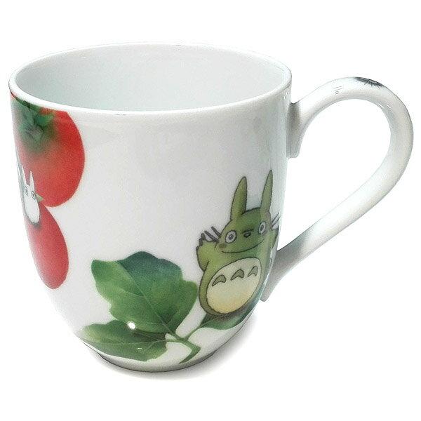 【真愛日本】18021100008 精緻瓷杯-蔬果彩繪番茄 宮崎駿 龍貓 TOTORO 馬克杯 Noritake