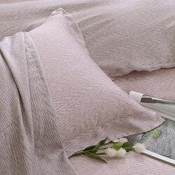 天絲枕套2入 天絲300織 歐式壓框枕套 諾維亞[鴻宇]台灣製2128