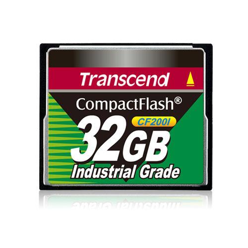 *╯新風尚潮流╭*創見記憶卡 32G 200X 200倍 CF工業卡 耐震耐高溫 TS32GCF200I