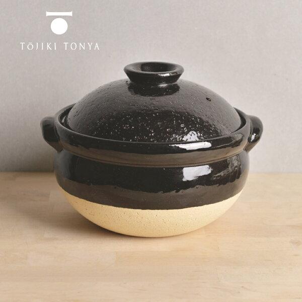 Nicegoods 生活好東西:【日本TOJIKITONYA】古伊賀耐熱雙蓋炊飯土鍋2.5L(4-6人)