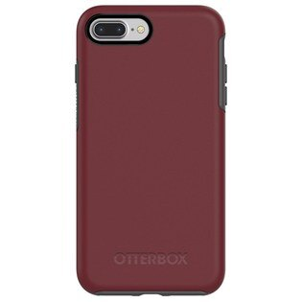 貝殼嚴選:【貝殼】OtterBoxSymmetrySeries炫彩幾何iPhone8PlusiPhone7Plus手機殼防摔殼-灰紅