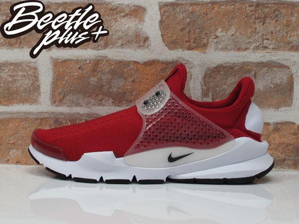 男生 BEETLE NIKE SOCK DART 紅色 紅白 襪套 慢跑鞋 平民版 819686-601 0