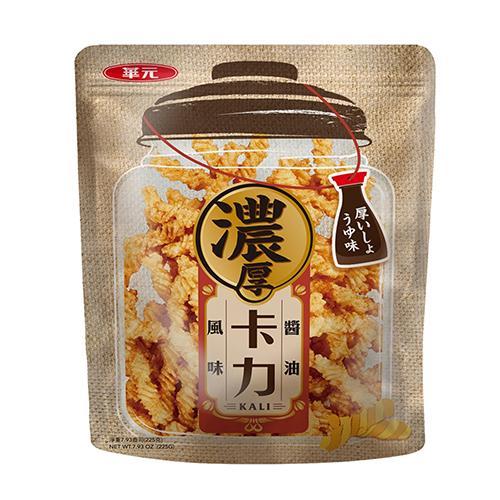 華元卡力-濃厚醬油風味225g【愛買】