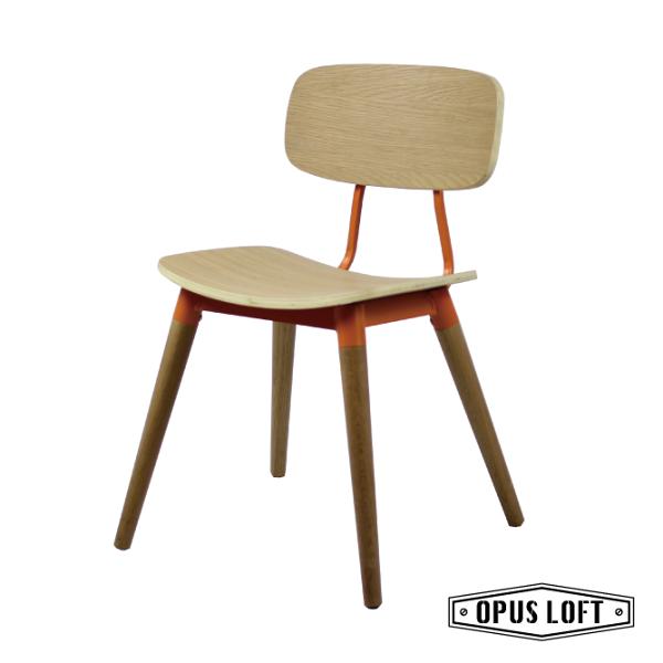 ASTRID阿斯特麗德復古北歐實木餐椅休閒椅餐椅