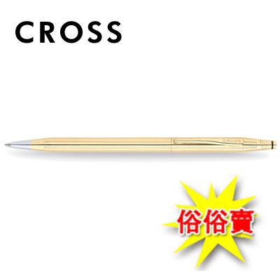 限量商品,售完為止【CROSS】2802 經典世紀系列 18K包金原子筆 / 支