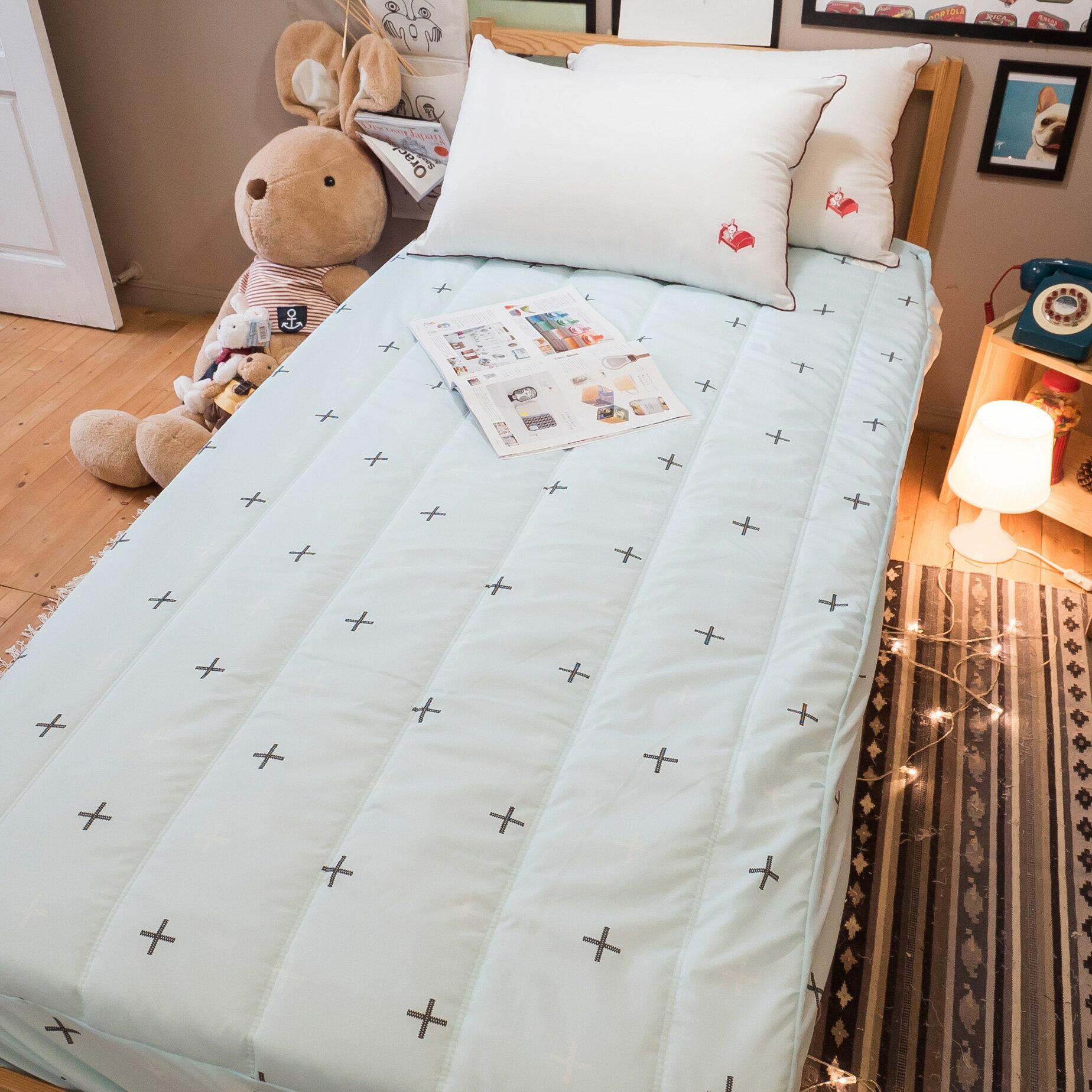 【綠十字】床包式保潔墊(尺寸可選)抗菌防污 台灣製 厚實鋪棉 可水洗 好窩生活節 3