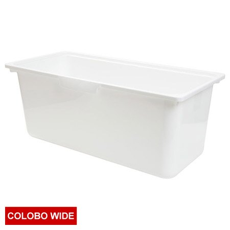 COLOBO WIDE收納盒 深型 WH 白