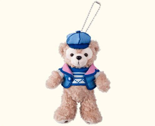 【真愛日本】16012700005 成為朋友-站姿別針娃達菲 2016情人節 達菲 雪莉玫 Duffy熊 吊飾