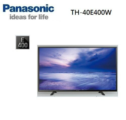 佳麗寶Panasonic 40型FHD顯示器 TH-40E400W電視 實體店家更安心