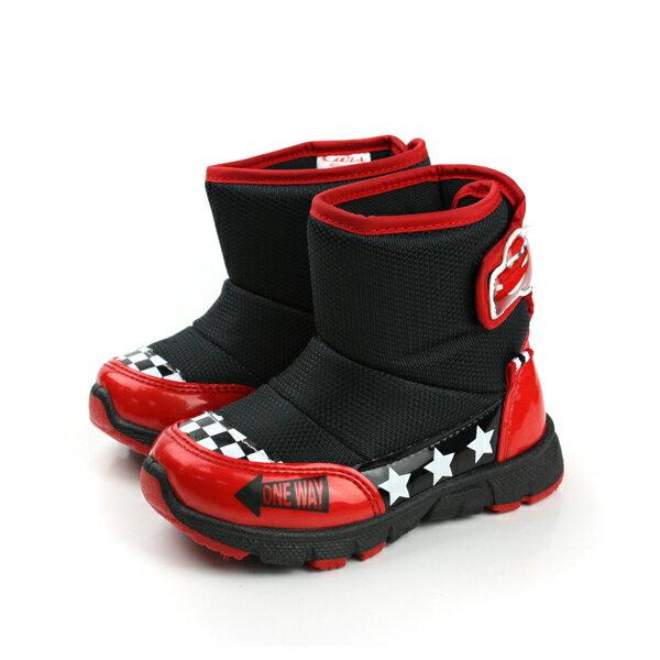 閃電麥坤 Cars 迪士尼 Disney 靴子 黑 中童 no799