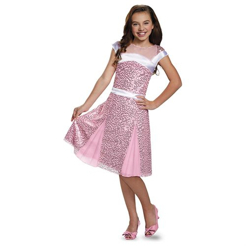 Girls Dlx Audrey Coronation Costume sz Medium 7-8 0