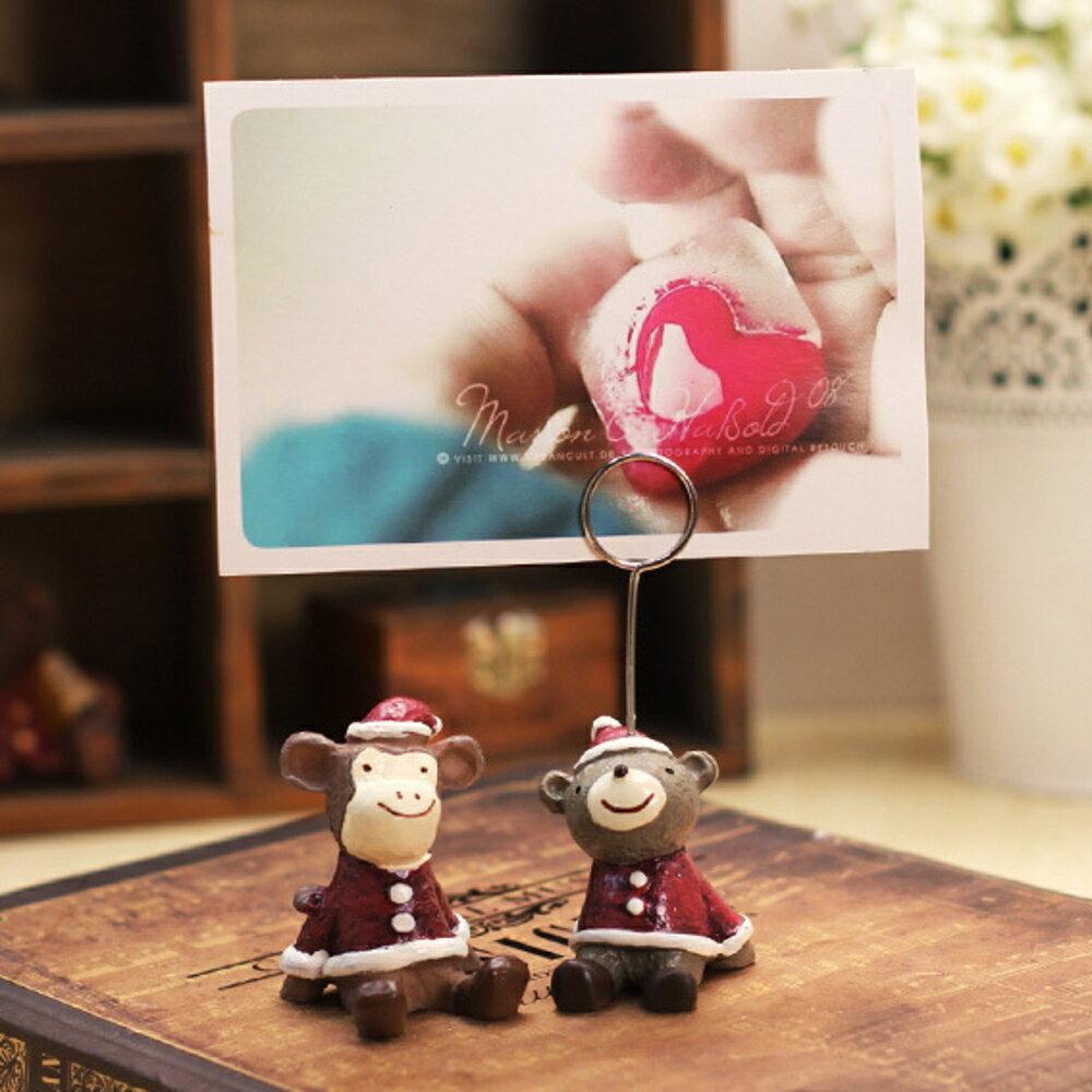 ✤宜家✤時尚可愛小動物家居擺件(聖誕系列) 創意禮物家居擺設 (五入)