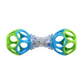 【淘氣寶寶】美國KidsII-Oball-手搖歡樂洞動球【不含BPA,PVC,乳膠和鄰苯二甲酸鹽】