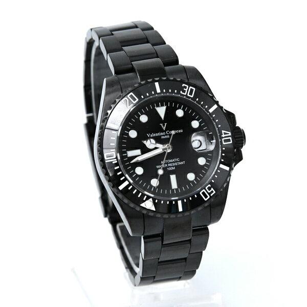范倫鐵諾˙古柏夜光不鏽鋼手錶柒彩年代【NEV49】正品原廠公司貨